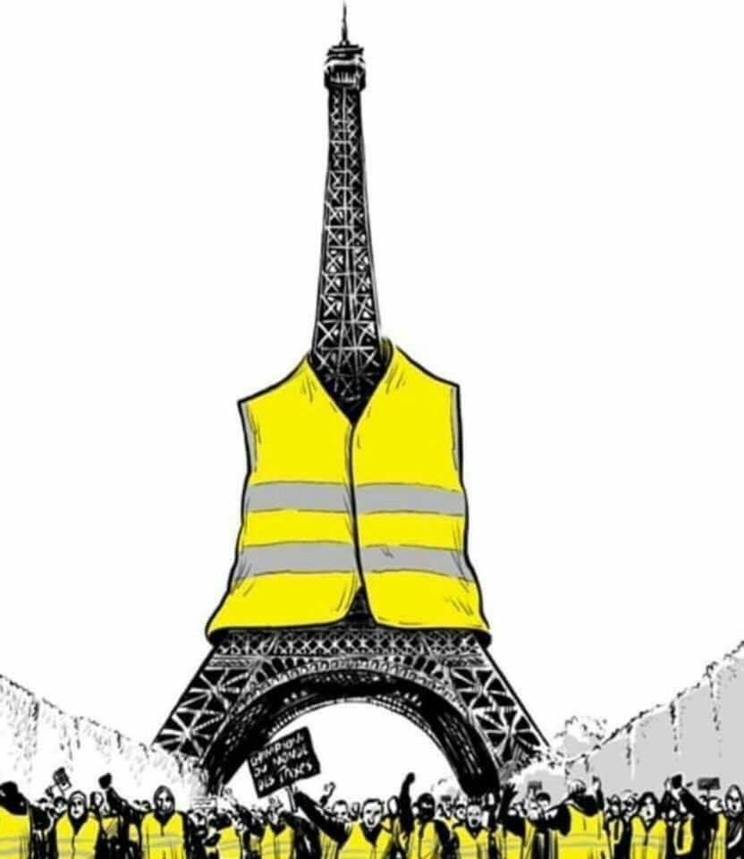 منشور جلیقهزردها در فرانسه